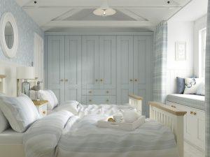 Sherborne French Grey & Chalk Bedroom Web