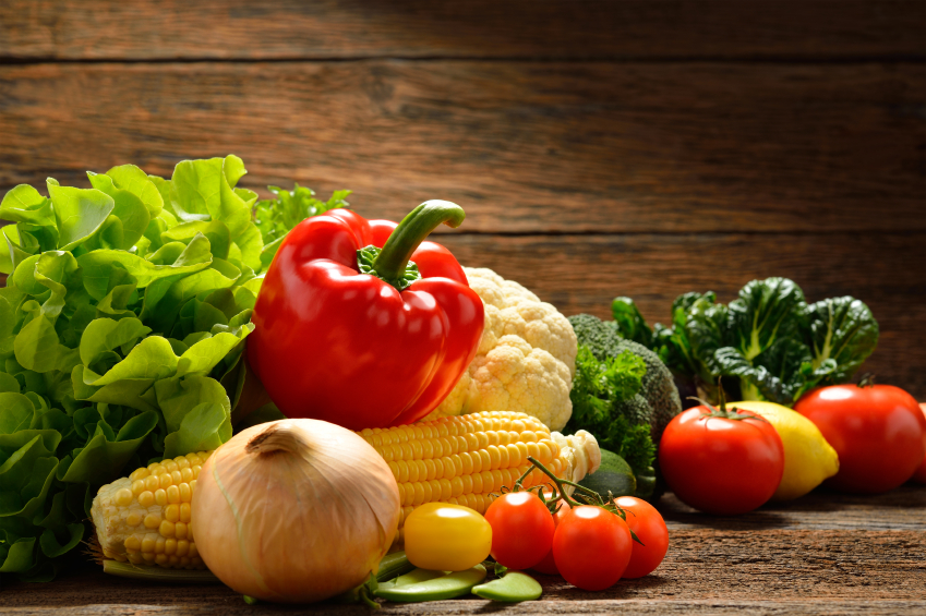 Vegetables and fruits iStock_000062046220_Small