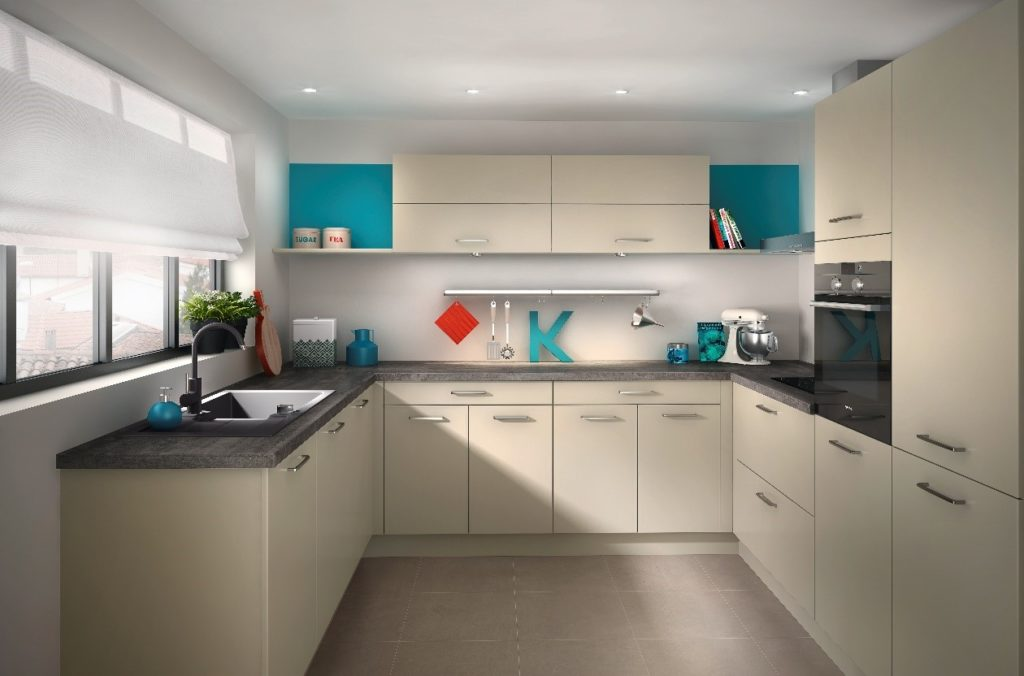 Beautifully designed kitchen