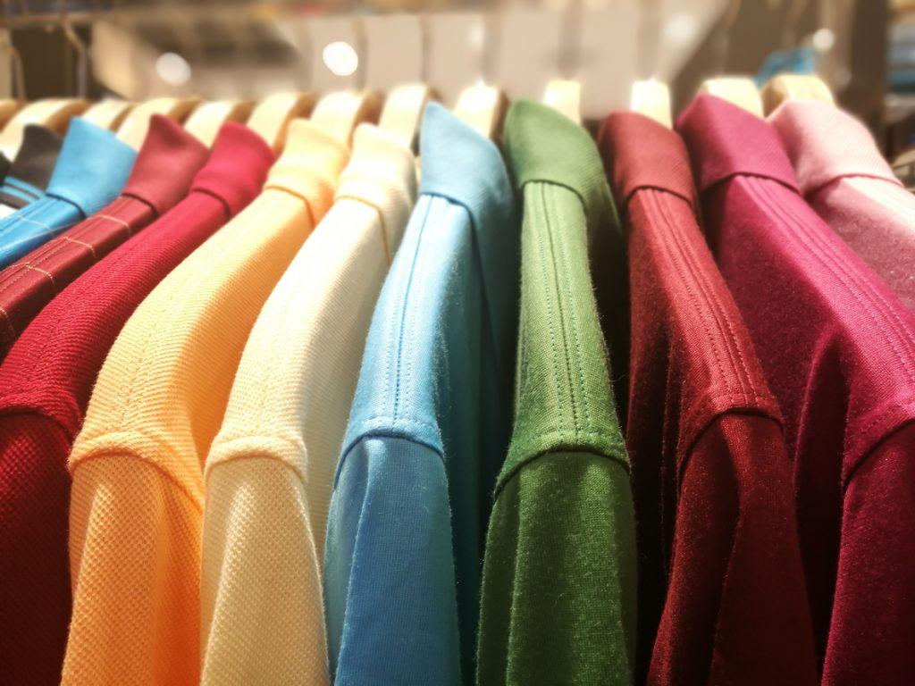 Shirts in a Wardrobe